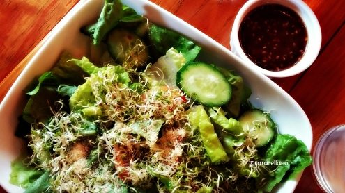 Garden Salad for Kuya Tobs